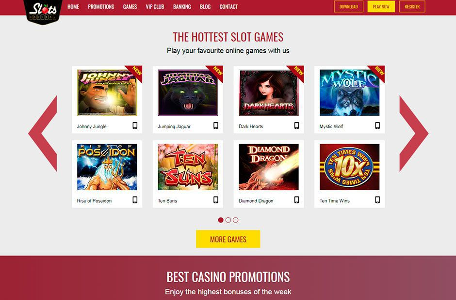 Official web site of Slots Capital Casino