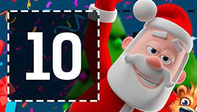Christmas Calendar of promotions at online casinos: offers for December 10, 2017