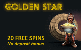 Golden Star Casino No Deposit Promo Code For 20 Free Spins On Sign Up