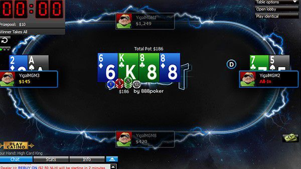 Blast Poker gameplay