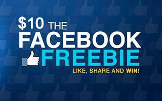 Slots.lv Casino $10 Facebook Freebie
