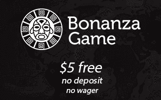 Bonanza Game Casino no deposit sign up bonus
