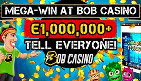 Mega win at Bob Casino